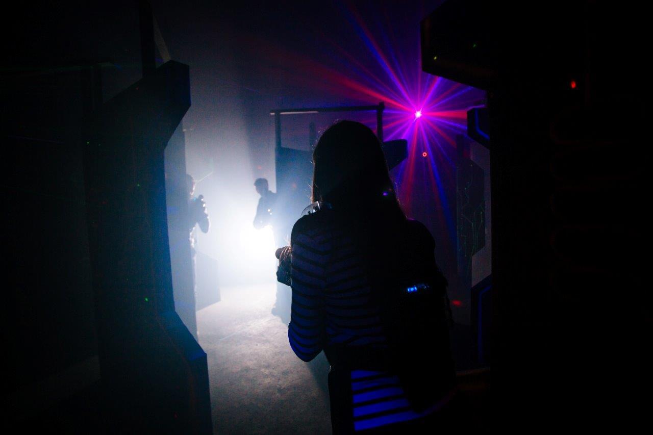 Lasertag spellen