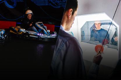 Combineer karten met een mini escape room bij ZERO55 in Enschede